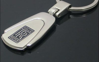 Sales-Promotion-Rolls-Royce-Chrome-Key-Ring-Chain-2549